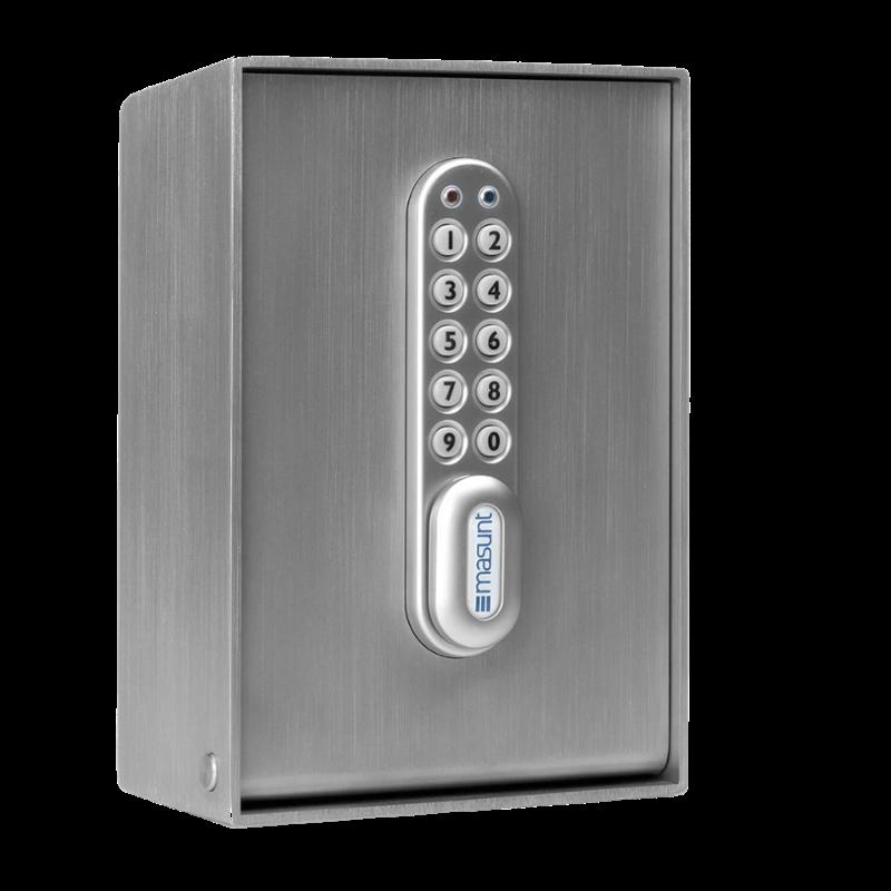 RVS 316 sleutelkast met elektronisch slot