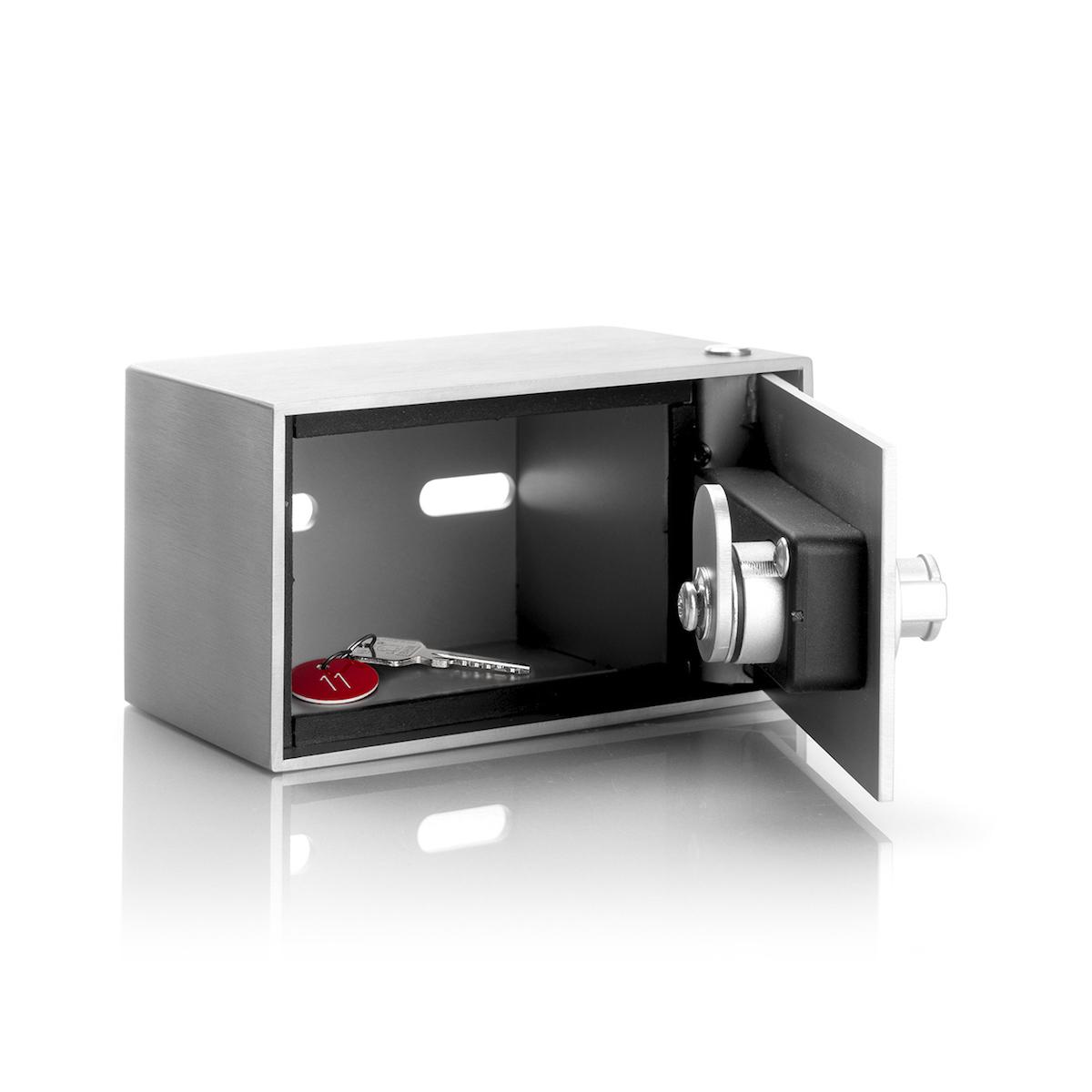 RVS 316  sleutelkast met cijferslot en back up sleutel